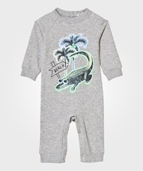 Stella McCartney Kids Grey All In One with Crocodile Print 1461