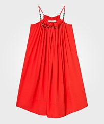 Stella McCartney Kids Red Hope Dress with Beads 7545
