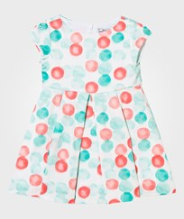 Mayoral Mint and Coral Spot Party Dress 79