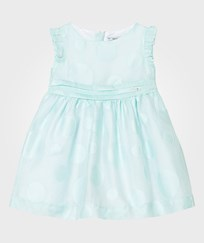 Mayoral Mint Circle Detail Voile Dress 10