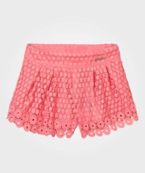 Mayoral Coral Lace Shorts 38