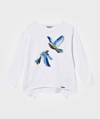 Mayoral White Sequin Bird Tee 79