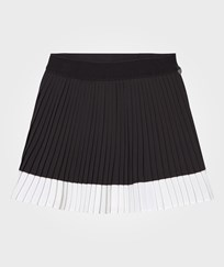 Mayoral Black and White Pleated Skirt 88