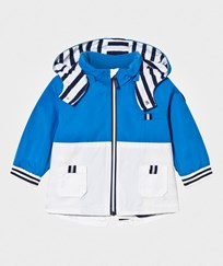 Mayoral Blue Hooded Parka 51