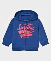 Mayoral Navy Surf Print Hoody 40