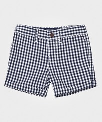Mayoral Navy Gingham Shorts 97