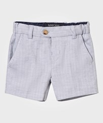 Mayoral Grey Herringone Smart Shorts 10