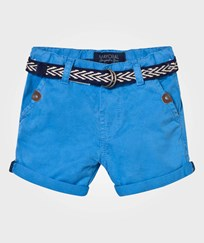 Mayoral Bright Blue Cotton Shorts with Belt 75