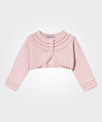 Mayoral Pink Knit Collar Bolero 25