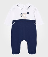 Mayoral Sailor Puppy Applique Footed Baby Body 2-Pack 46