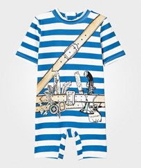 Stella McCartney Kids Stripe All In One with Pirate Print 4761