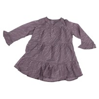 Dress Ruffle Sleeve Lavendel