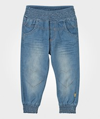 Hust&Claire Baggy Denim Trousers Washed denim WASHED DENIM