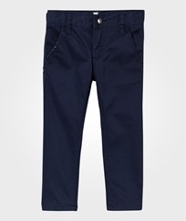 Hust&Claire Twill Trousers Night Blue Night Blue