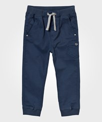 Hust&Claire Coloured Twill Trousers Blue moon Blue moon