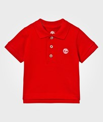 Timberland Classic Red Branded Polo 97E