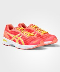 Asics Pink GT-1000 5 GS Gilrs Trainers DIVA PINK/SUN/MELON