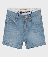 Levis Kids Light Wash Pull Up Shorts 46