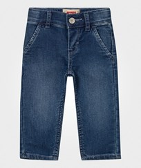 Levis Kids Light Wash Jog Jean with Elastic Waist and Cuff 46