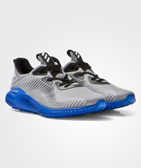 adidas Grey Alphabounce Junior Trainers Black