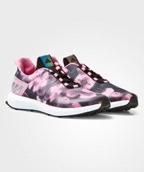 adidas Pink RapdiaRun Uncaged Trainers CORE BLACK