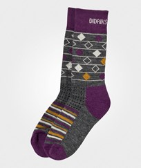 Didriksons Fotis Kids Socks Multi