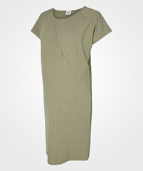 Mamalicious Mlmoon S/s Jersey Dress Vetiver Vetiver