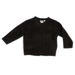 Elon Fleece Zip Jacket Black