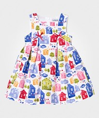 Mayoral Multi House Print Dress 55