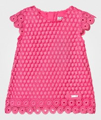Mayoral Fuchsia Lace Dress 14