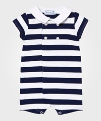 Mayoral Navy Stripe Romper 31