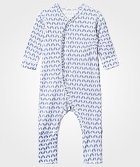 Hust&Claire One-Piece Suit - Bamboo Light blue Light Blue