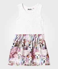 Molo Colleen Dress Lovely Llama Lovely Lhama