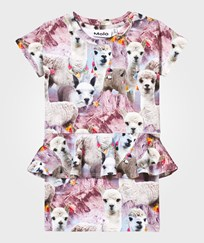 Molo Christina Dress Lovely Llama Lovely Lhama