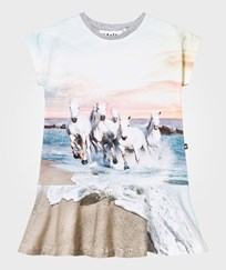 Molo Caeley Dress White Horses White Horses