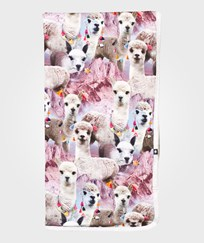 Molo Neala Blanket Lovely Llama Lovely Lhama