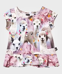 Molo Ebba T-Shirt Lovely Llama Lovely Lhama