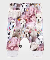 Molo Simone Soft Pants Lovely Llama Lovely Lhama