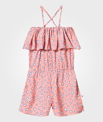 Molo Angelina Romper Pink Star Pink Star