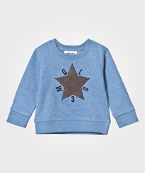 Molo Dines Sweatshirt Flourentic Blue Flourentic Blue