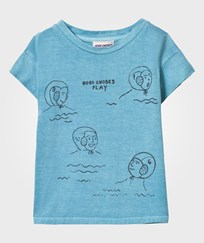Bobo Choses Waterpolo T-Shirt Turquoise Blue Turquoise Blue