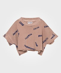 Bobo Choses The Legends Cropped Sweatshirt Off Rose Off Rose