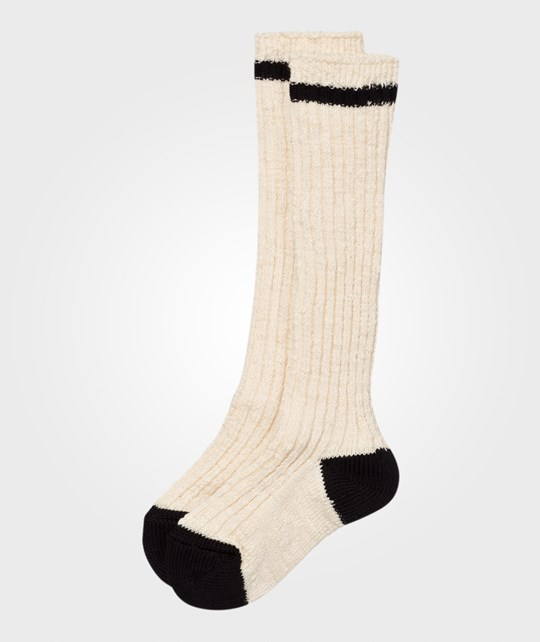 Bobo Choses Flamme Rib Socks Off White Off white