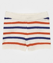 Bobo Choses Striped Knit Short Off White Off white