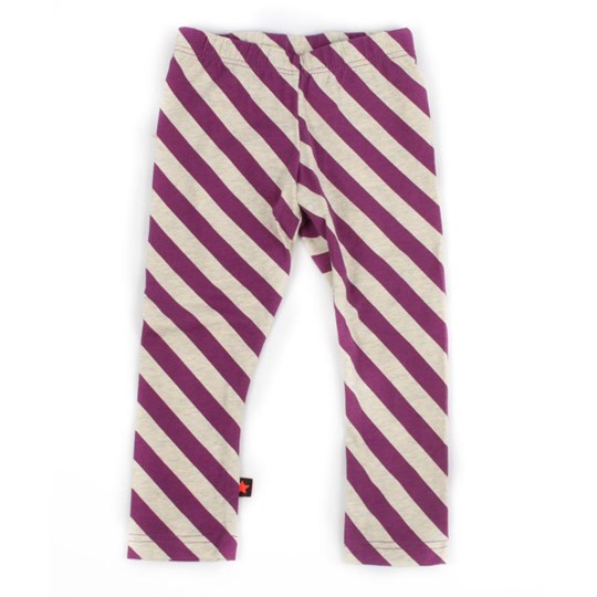 Molo Nydia Ecru Diagonal Purple