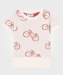 Bobo Choses The Cyclist Knit Sweater Off White Off white