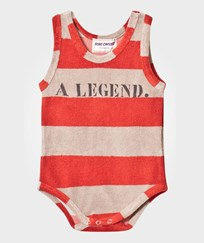 Bobo Choses Striped Terry Body A Legend Red Clay Red Clay