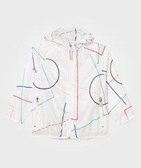 Bobo Choses Wind Stopper Jacket Court Off White Off white