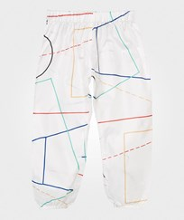 Bobo Choses Waterproof Trousers Court Off White Off white