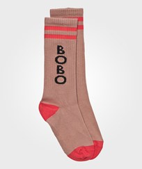 Bobo Choses Play Tennis Socks Off Rose Off Rose